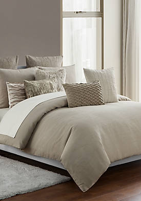 3-Piece Madrid Antique Gold Queen Comforter Set