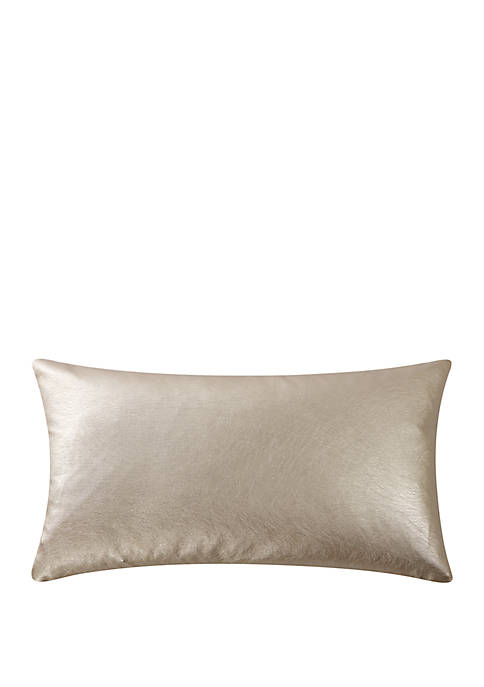 Abstract Floral 11 in x 20 in Decorative Pillow