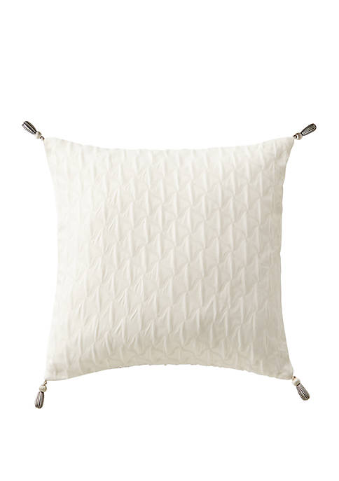 Aidan 16 in x 16 in Tassel Square Pillow