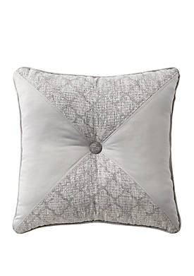 Aidan 18 in x 18 in Tufted Square Pillow