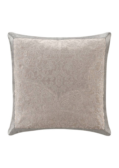 Andria 16 in x 16 in Embroidered Pillow