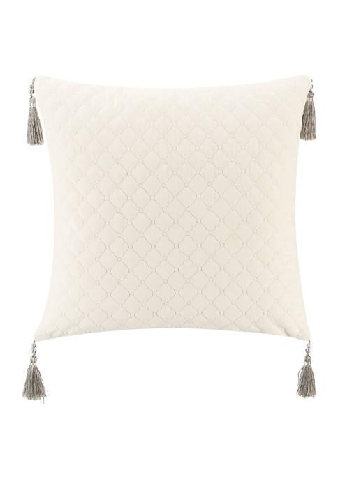 Andria 18 in x 18 in Velvet Pillow
