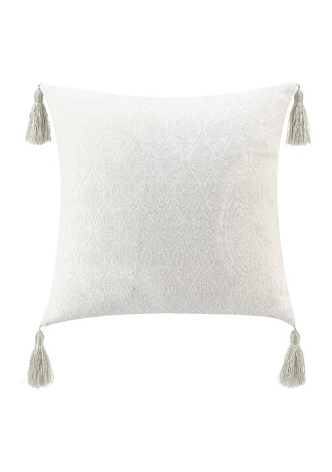 Belline 20 in x 20 in Tassels Pillow