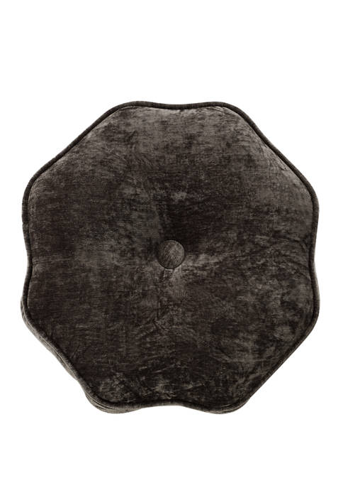 16 in x 16 in Caine Tufted Round Pillow