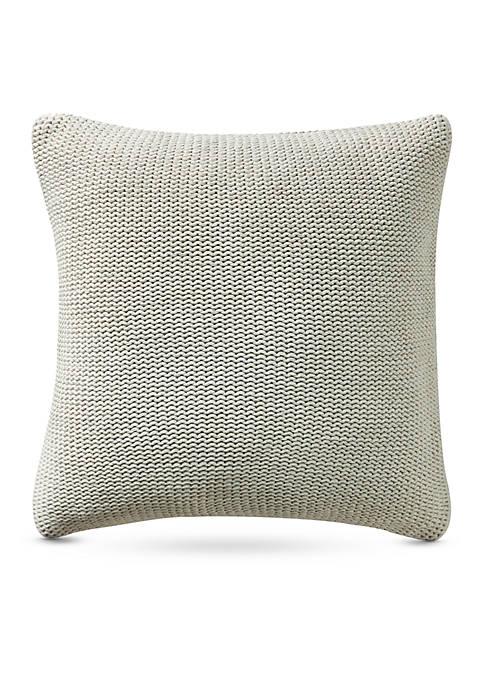 Highline Bedding Co. Driftwood Knit Decorative Pillow