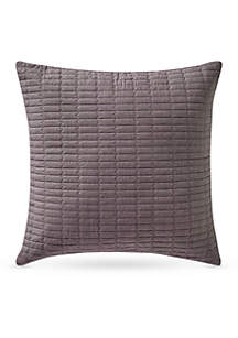 Driftwood Quilted Decorative Pillow