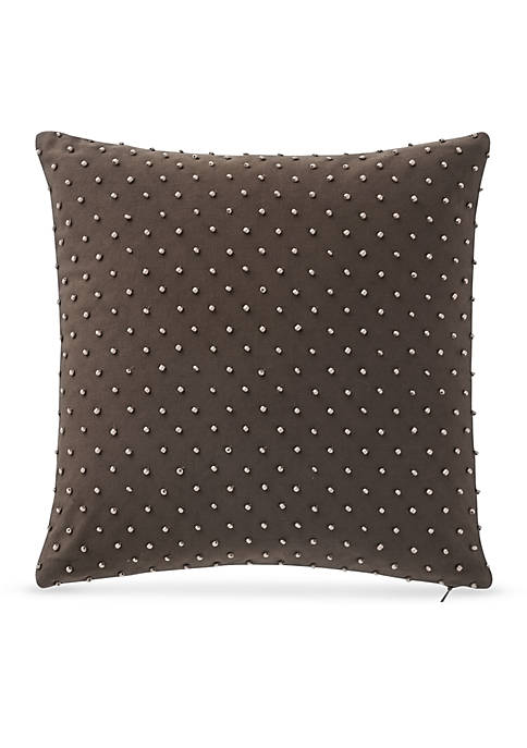 Waterford Gabion Beaded Decorative Pillow