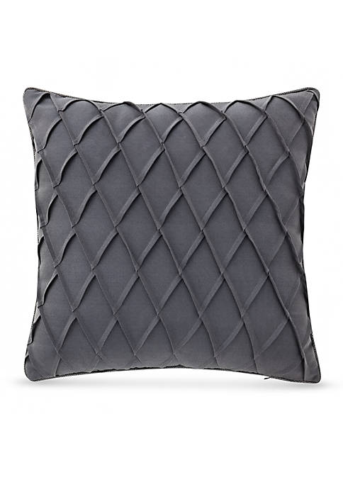 Waterford Gabion Pintuck Decorative Pillow