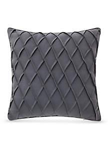 Gabion Pintuck Decorative Pillow