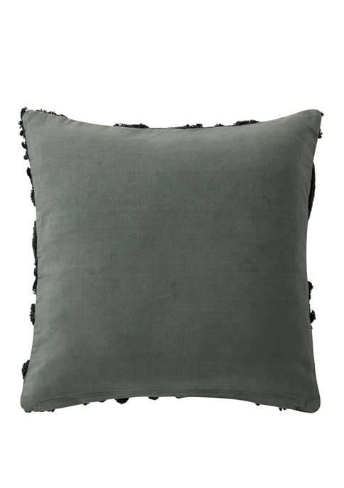 Garner 18 in x 18 in Textured Pillow