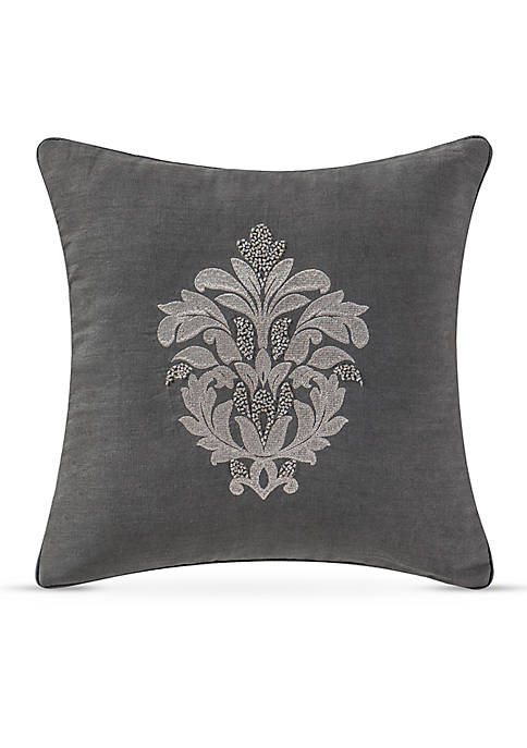 Waterford Maura Square Decorative Pillow 14-in. x 14-in.