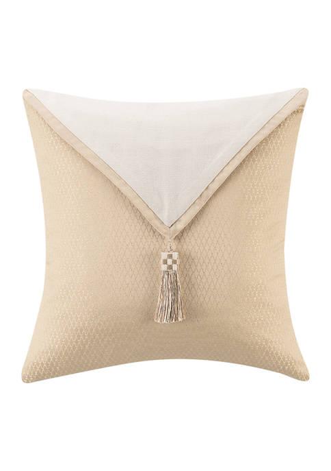 Olann 18 in x 18 in Jacquard Pillow