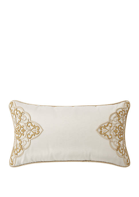 Shelah 11 in x 20 in Embroidered Pillow