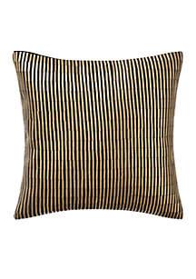 Gold Valencia Onyx Decorative Pillow