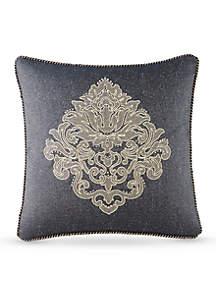 Vaughn Embroidered Decorative Pillow
