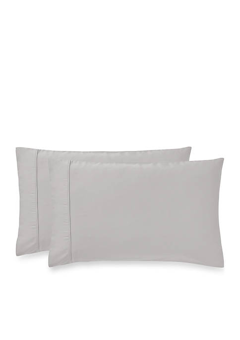 Highline Bedding Co. Sullivan Solid Pillowcase Pair