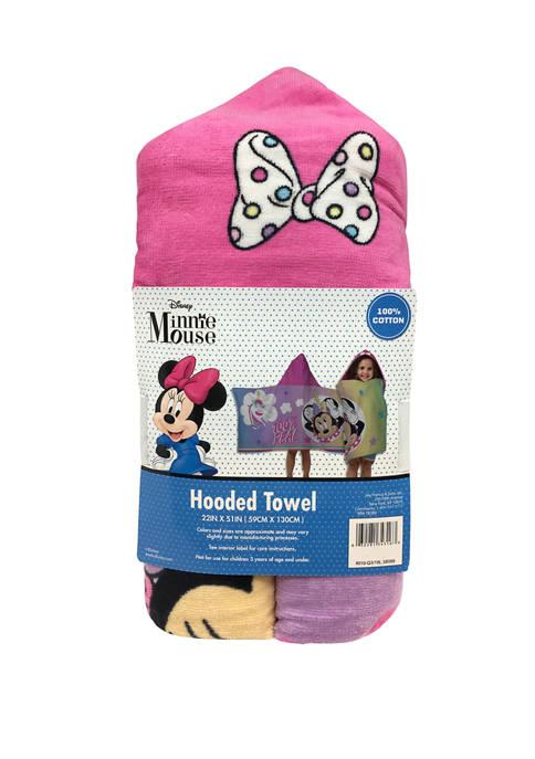 Minnie Mouse Unicorn Hooded Towel