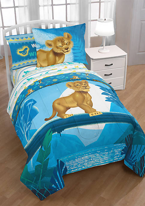 Lion King 5 Piece Twin Bed Set