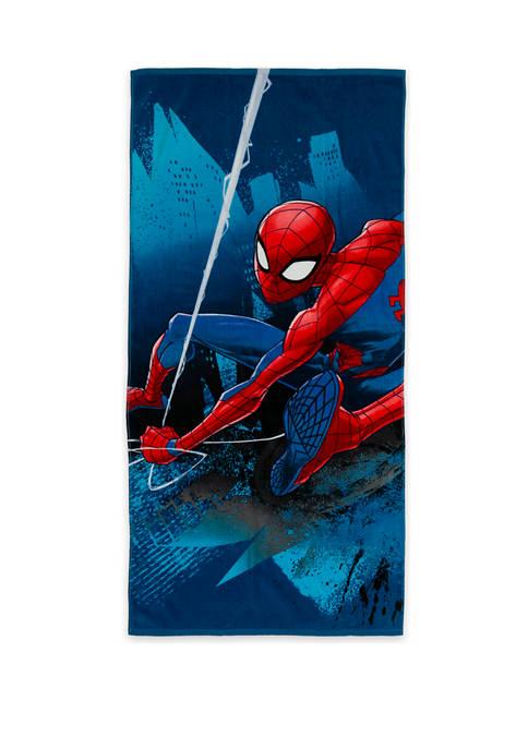 Marvel™ 28 in x 58 in Spider-Man Beach