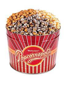 The Gifting Group Popcornopolis 2-gal. Winter Tin