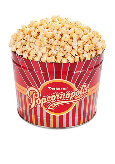 Popcornopolis Gourmet 2 Gallon Tin, Kettle