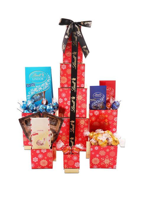 Alder Creek Gift Baskets Lindt Chocolate Tower