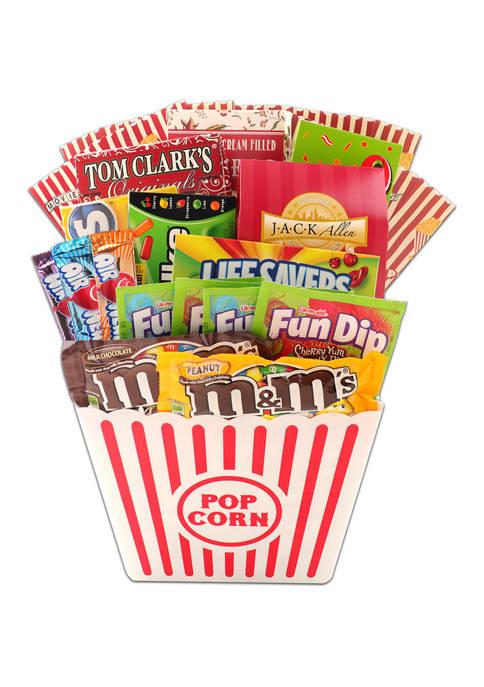 Alder Creek Gift Baskets Movie Night Extravaganza