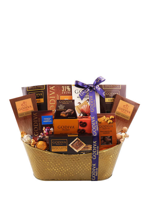 Alder Creek Gift Baskets Godiva Favorites Gift Basket