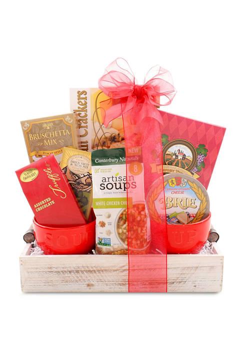 Alder Creek Gift Baskets 9 Piece Soups On
