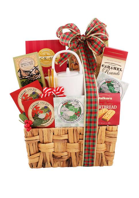 Alder Creek Gift Baskets Holiday Tea Time Gift