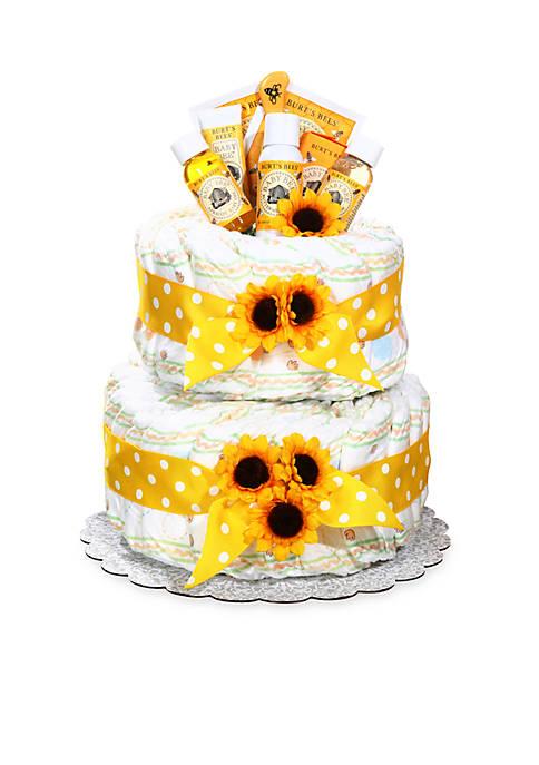 Burts Bees® Diaper Cake - Neutral