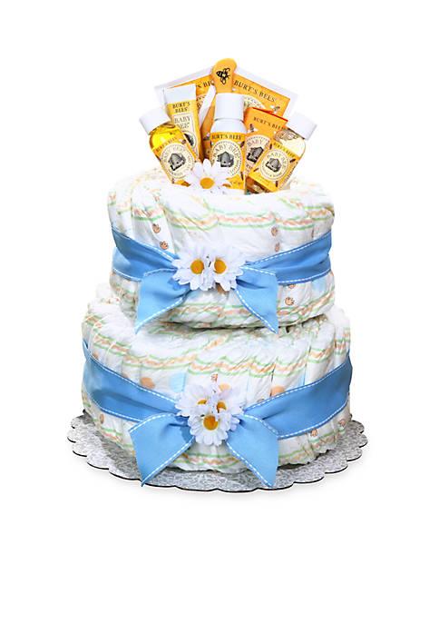 Burts Bees® Diaper Cake - Boy