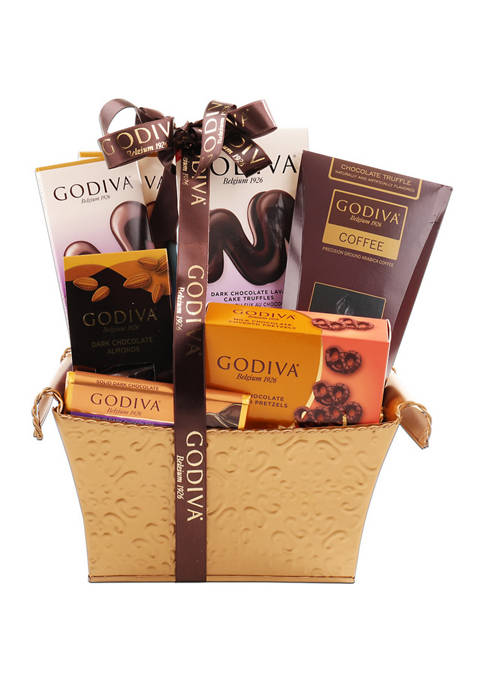 Alder Creek Gift Baskets Godiva Holiday Chocolate Gift