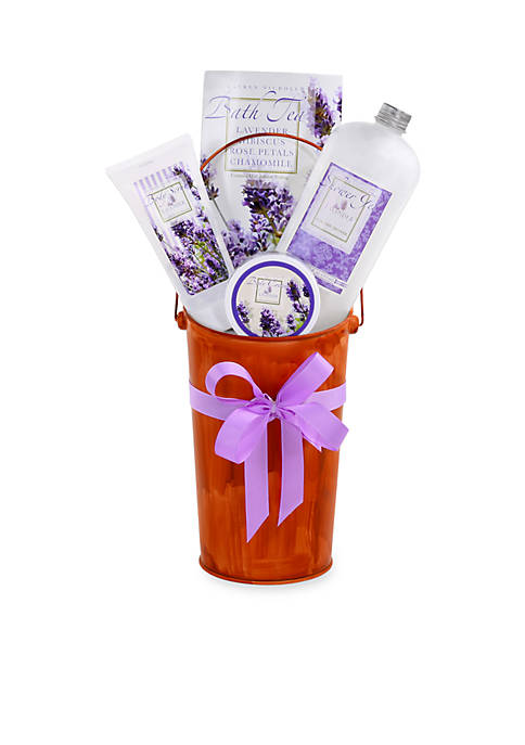 The Gifting Group Lavender French Flower Bucket