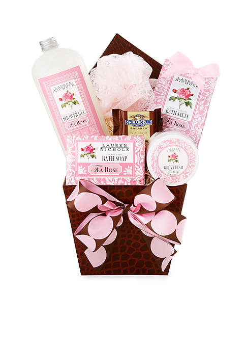 Alder Creek Calming Rose Spa Gift Box