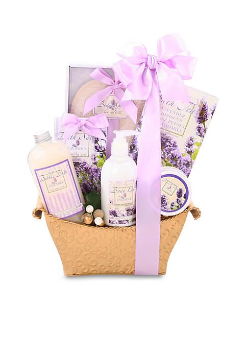 Alder Creek Gift Baskets Lovely Lavender Gift Basket