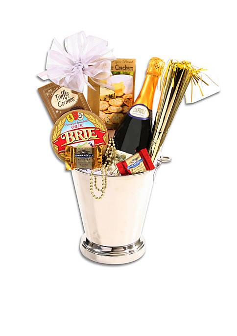 New Years Celebration Gift Basket
