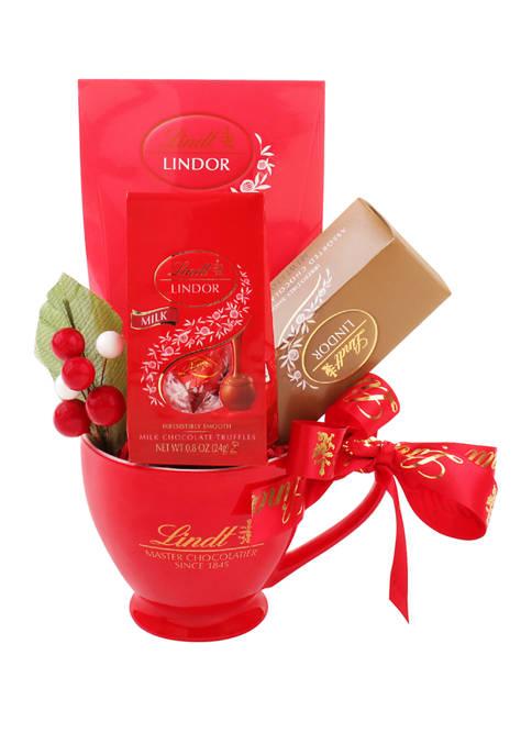 Lindt Holiday Mug Set