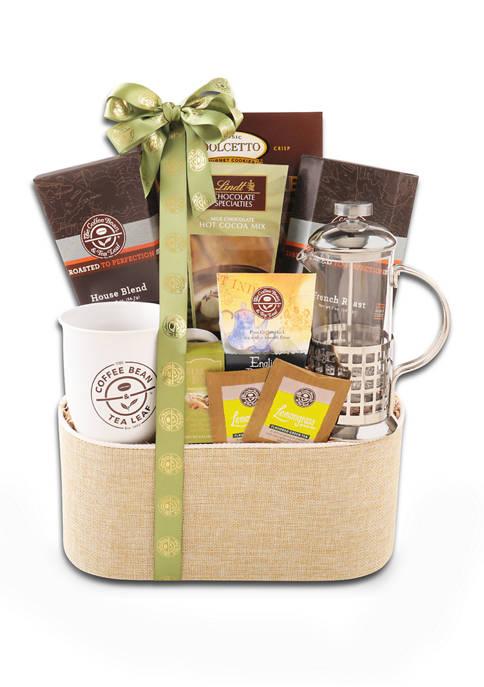 Alder Creek Gift Baskets CBTL Press Gift Basket