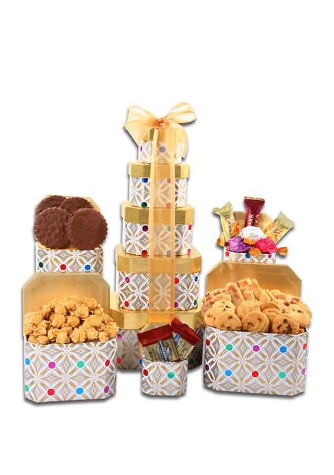 Alder Creek Gift Baskets Classic Confections Gift Set