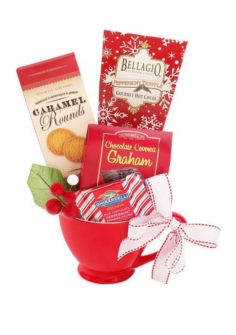 Alder Creek Gift Baskets Holiday Hot Cocoa Gift