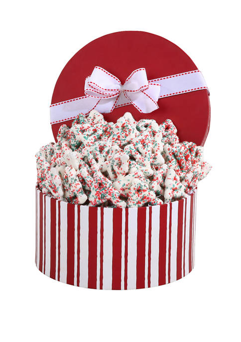 Alder Creek Gift Baskets Holiday Pretzel Gift Box