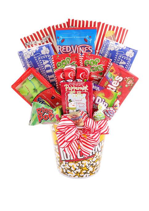Alder Creek Gift Baskets Holiday Movie Night Gift