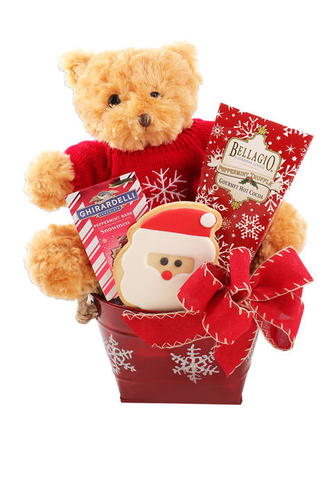 Alder Creek Gift Baskets Beary Christmas! Gift Set
