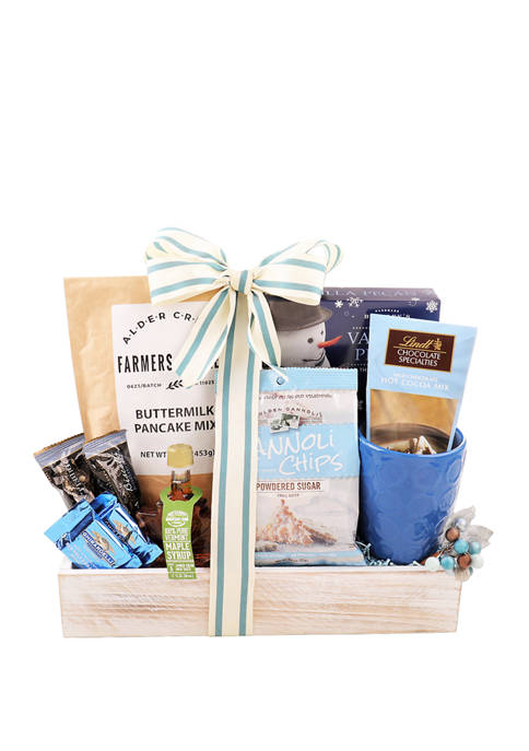 Do You Want to Bake a Snowman Gift Basket