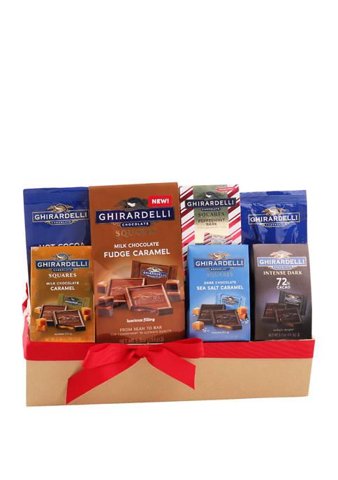 Ghirardelli Chocolate Sampler Gift Basket