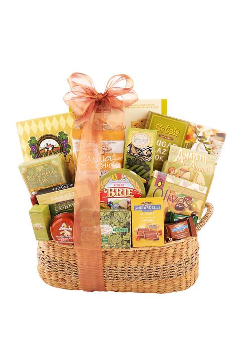 Alder Creek Gift Baskets Tuscan Christmas Picnic