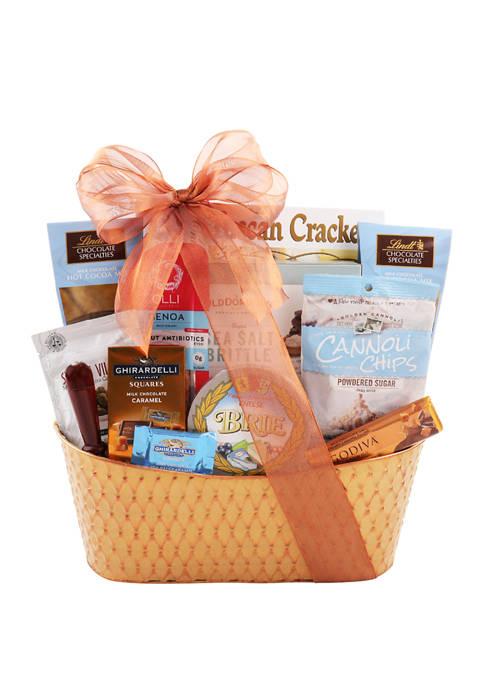 Alder Creek Gift Baskets Deluxe Appreciation Gift