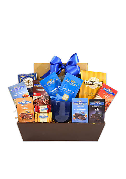 Ghirardelli Sampler Holiday Gift Basket