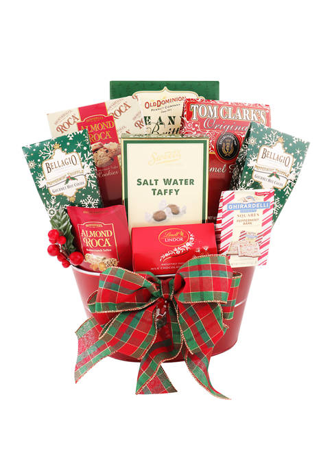 Alder Creek Gift Baskets 8 Piece Ultimate Holiday